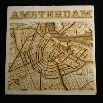 City map Amsterdam
