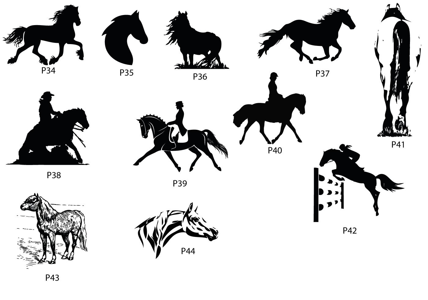 afbeeldingen paarden